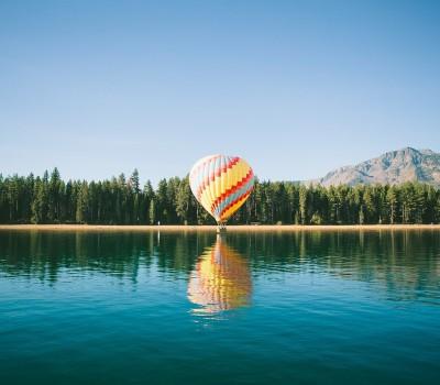 un viaje en globo